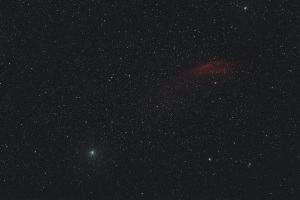 20181219ウィルタネン彗星とカリフォルニア星雲