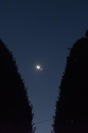 20190102金星と月