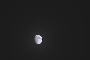 20190318月とプレセペ星団の接近