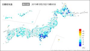 20190323-1500日最低気温前日差