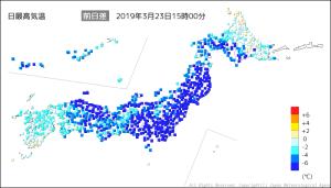 20190323-1500日最高気温前日差