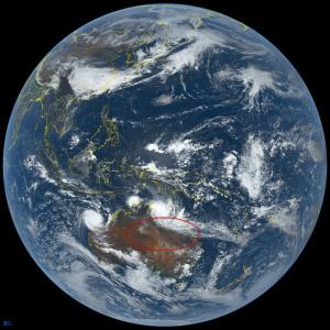 20190322地球と大赤斑