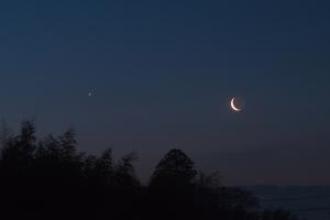 20190402金星と月の接近