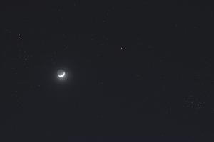 20190409月と火星