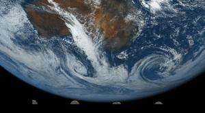 20190420地球と月
