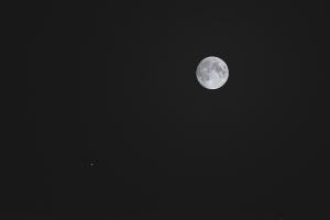 20190617月と木星の接近