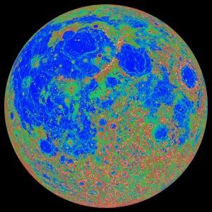 月面傾斜量