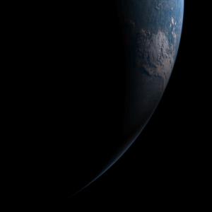 20190703-0250日食月影