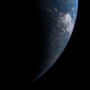20190703-0330日食月影