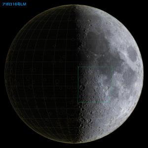 アポロ16号LM位置