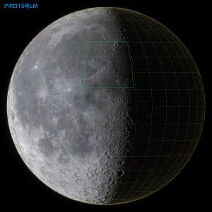 アポロ15号LM位置(下弦)