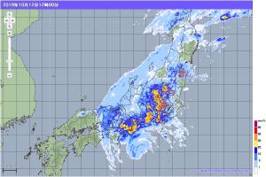 20191012-1200降雨レーダー