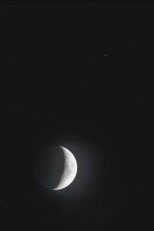 20191102月と土星の接近