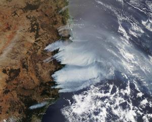 20191109オーストラリア東部森林火災