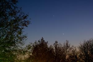 20191121金星と木星の接近