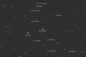 20191122シューメーカー第3彗星(155P)