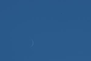20191229金星と月