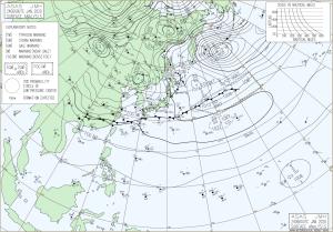 20200124-0600UT地上天気図