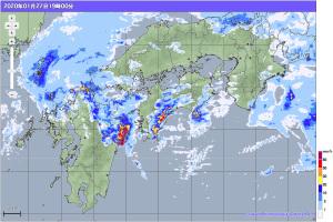 20200127-1900降雨レーダー
