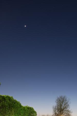 20200211夕空の惑星たち