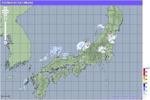 20200225-1350降水レーダー