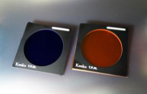 手製の色分解フィルター