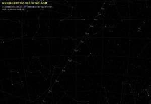 小惑星1998 OR2星図2