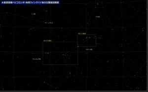 ベピコロンボ星図範囲