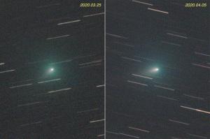 アトラス彗星(C/2019 Y4)の比較