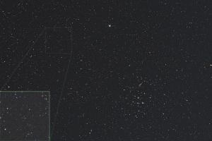 20200418小惑星1998 OR2とプレセペ星団