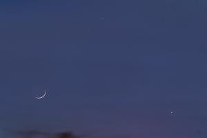 20200524金星・水星・月の接近