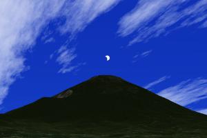 20200621日食ダイヤ富士