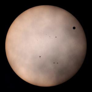 20120606金星日面通過