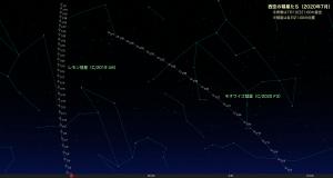 202007・二彗星星図