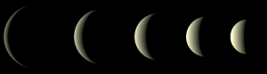 2020年金星最大光度前後の位相