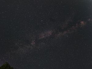 天の川と七夕の星々