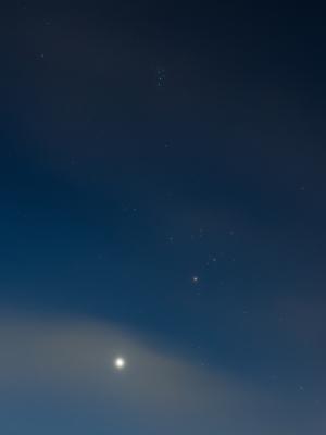 20200724金星とヒアデス&プレアデス