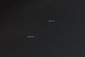 20200802パンスターズ彗星(C/2017T2)とレモン彗星(C/2019U6)