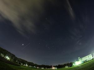 20200825明け方の星々