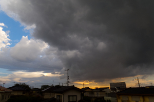 20200909夕方の雷雨