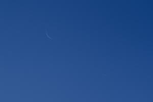 20201113月と金星の接近
