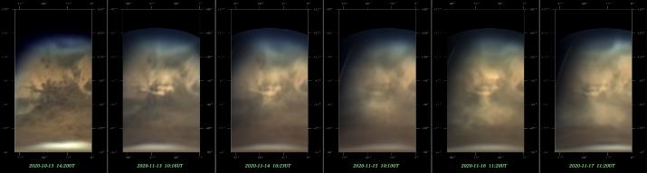 20201117火星の黄雲比較