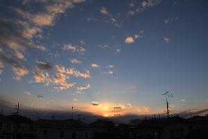 20201219太陽柱と幻日
