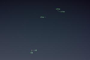 20201222木星と土星の接近