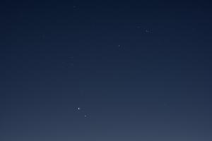 20201228木星と土星の接近