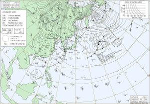 20201229-0900JST地上天気図