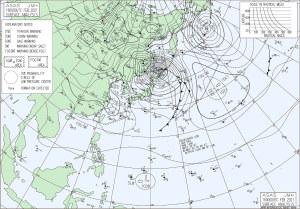 20210216-0900JST地上天気図