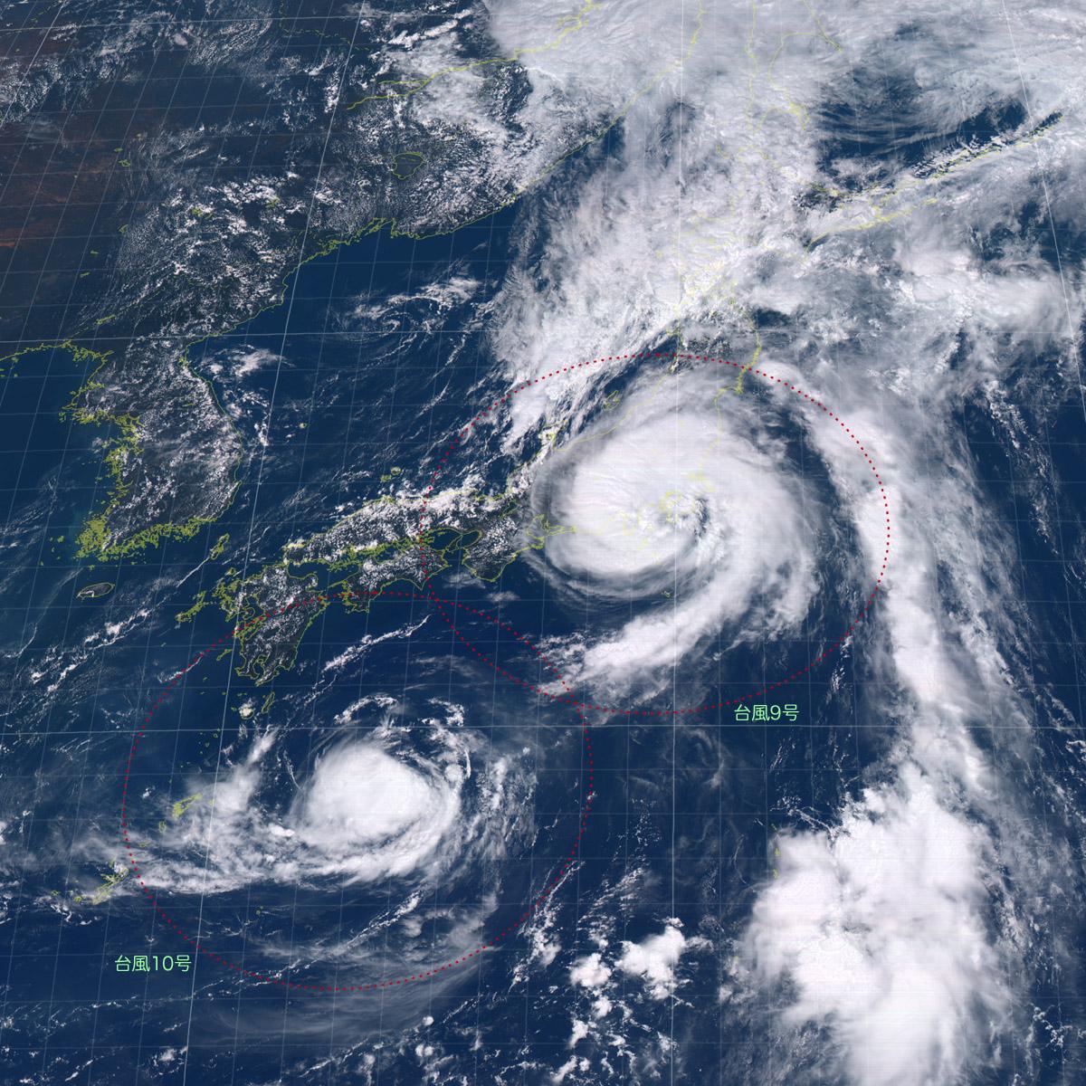 20160822-1200気象衛星画像