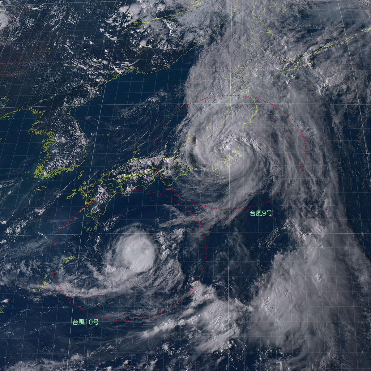 20160822-1600気象衛星画像