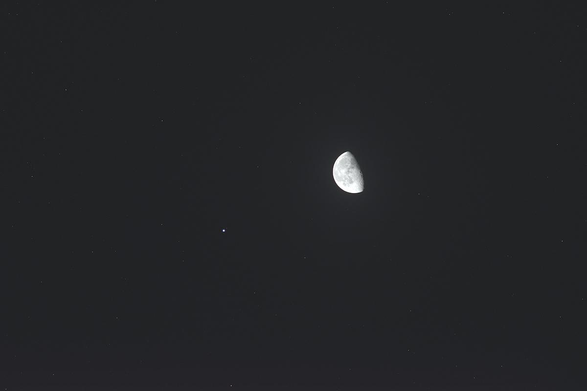 20171209月とレグルス
